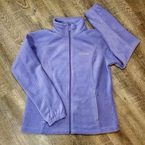Women's Columbia Full Zip Fleece Jacket XL